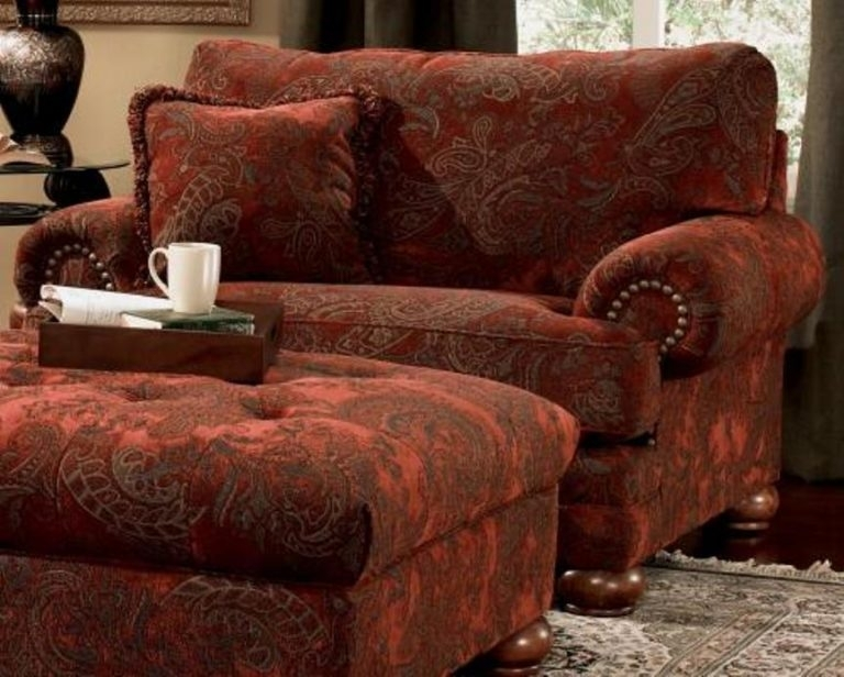 Overstuffed Sofa With Chaise – Loccie Better Homes Gardens Ideas For Overstuffed Sofas And Chairs (Image 10 of 10)