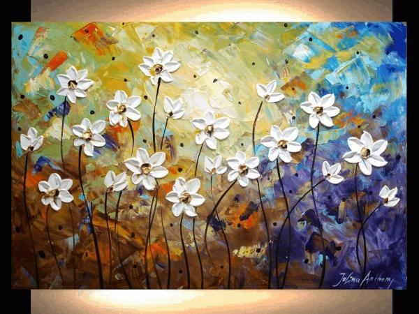 Painting Abstract Painting Flowers Abstract Landscape Painting With Abstract Landscape Wall Art (View 2 of 20)