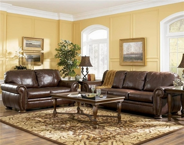 Painting Color Ideas | Living Room Colors Ideas Paint Living Room With Regard To Brown Sofa Chairs (Image 10 of 10)