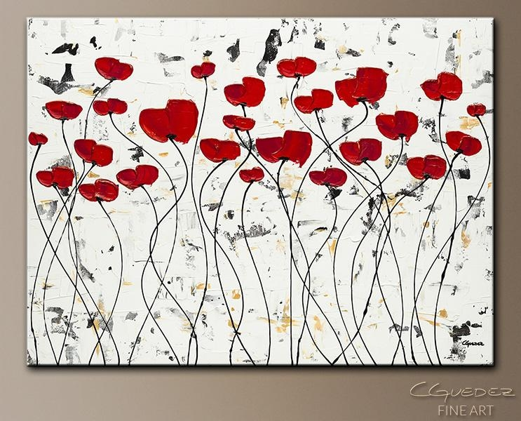 Paintings For Sale Wall Art Garden Of Hope – Textured Abstract For Abstract Garden Wall Art (Image 14 of 20)
