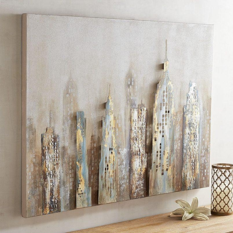 Paints : Pier One Abstract Wall Art Also Metal Wall Art At Pier Throughout Pier One Abstract Wall Art (Image 7 of 20)