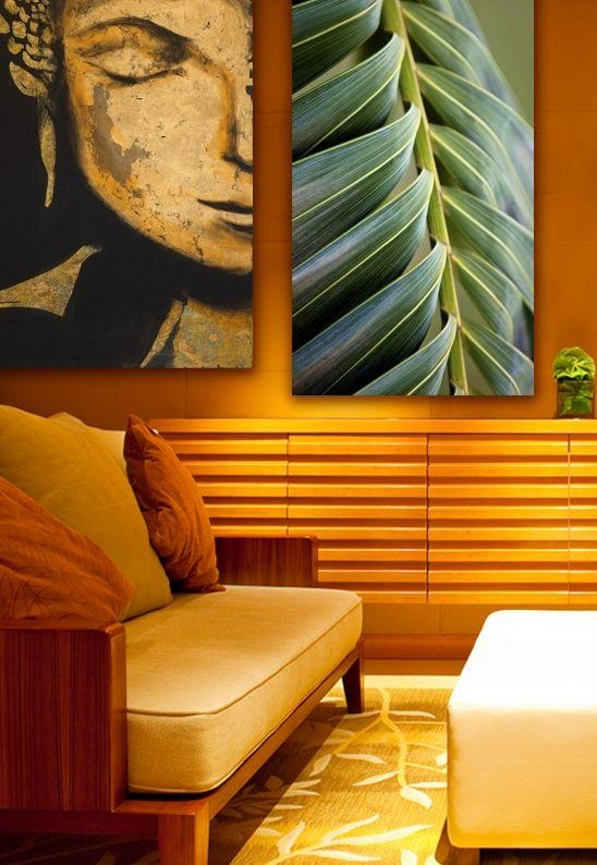 Pair Canvas Prints That Have A Similar Mood, To Create A Regarding Canvas Wall Art Pairs (View 19 of 20)