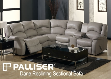 Palliser Sectional Sofa Sets Inside Sectional Sofas With Consoles (Photo 5 of 10)