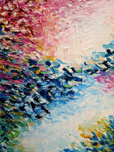 Paradise Dreaming Fine Art Print Colorful Pastel Abstract Art Pertaining To Pastel Abstract Wall Art (View 5 of 20)