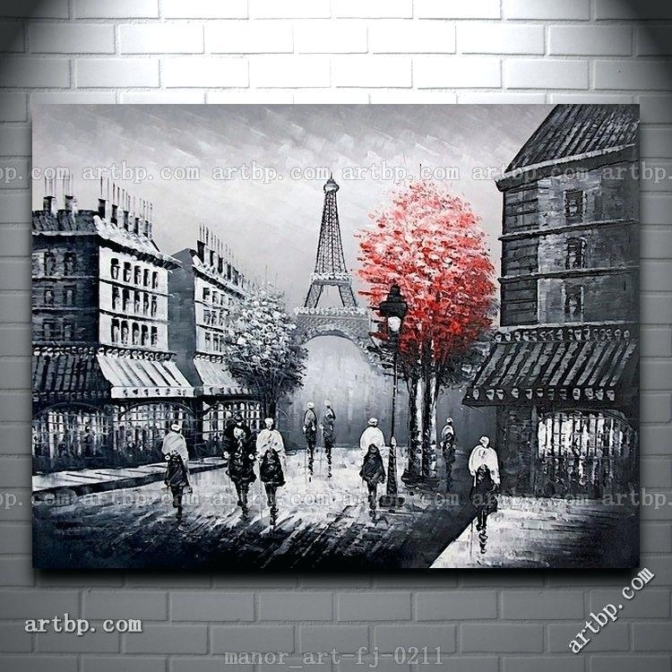 Parisian Wall Decor Paris Style Wall Decor – Danielederossi For Canvas Wall Art Of Paris (Image 13 of 20)