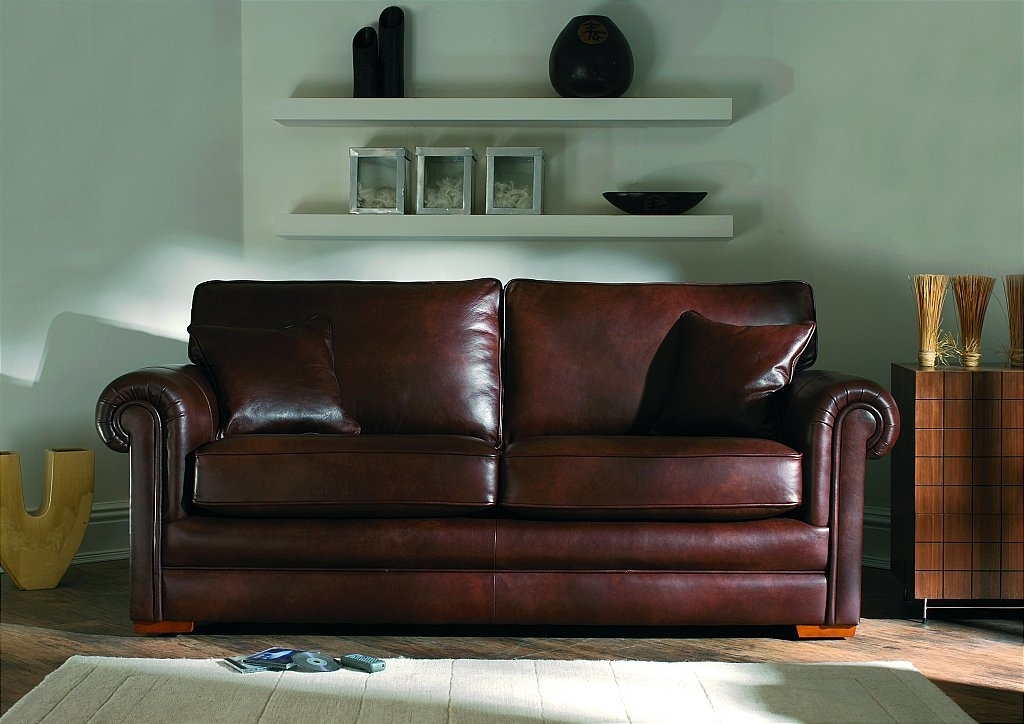 Parker Knoll Canterbury Sofa Throughout Canterbury Leather Sofas (Image 10 of 10)