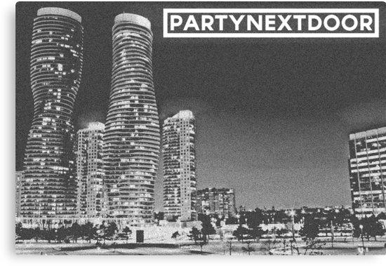 "Partynextdoor: Mississauga"" Canvas Printslogeybearrr 