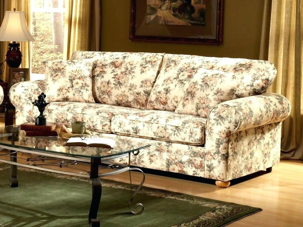Pattern Sofa Chintz Fabric Sofas Floral Sofa Unique Floral Pattern Intended For Chintz Fabric Sofas (Image 8 of 10)
