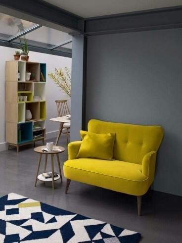 Peinture Living | Decorate | Pinterest | Sitting Area, Spaces And In Yellow Sofa Chairs (Image 6 of 10)