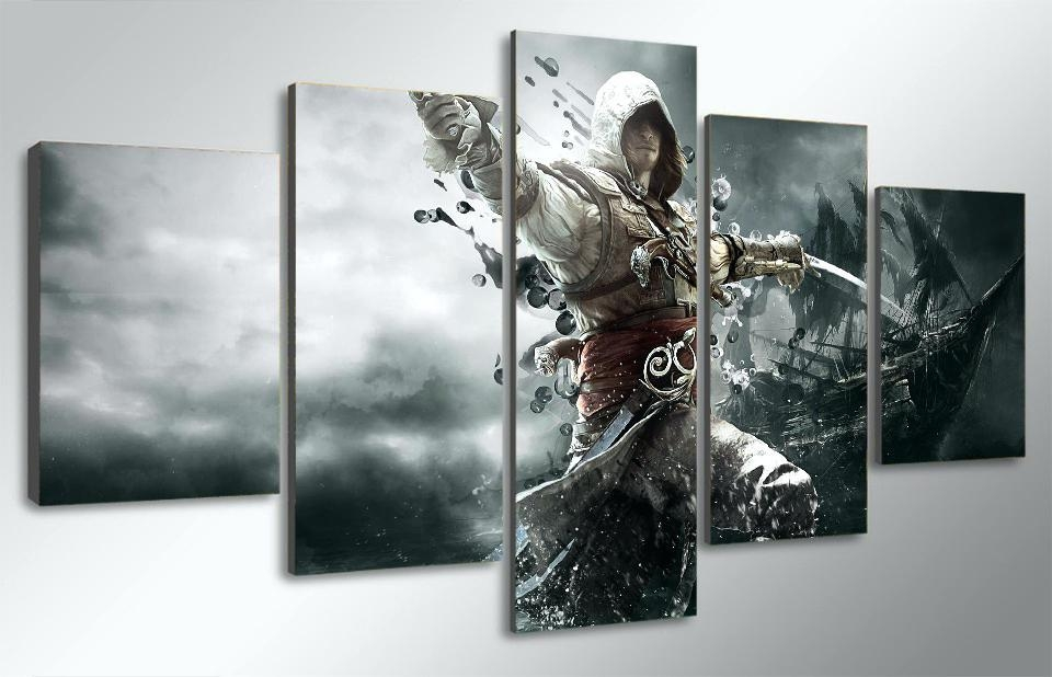 Personalized Canvas Wall Art Wall Art Exciting Video Game Canvas Inside Canvas Wall Art In Canada (Image 13 of 20)