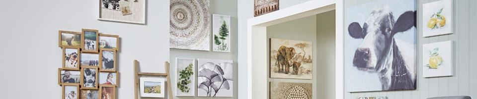 Picture Frames & Wall Art | The Range Inside Matalan Canvas Wall Art (View 7 of 20)