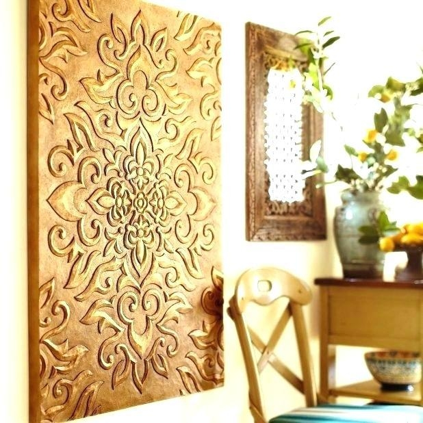 Pier One Imports Wall Decor Stunning Blocks Painting Pier One With Pier One Abstract Wall Art (Image 11 of 20)