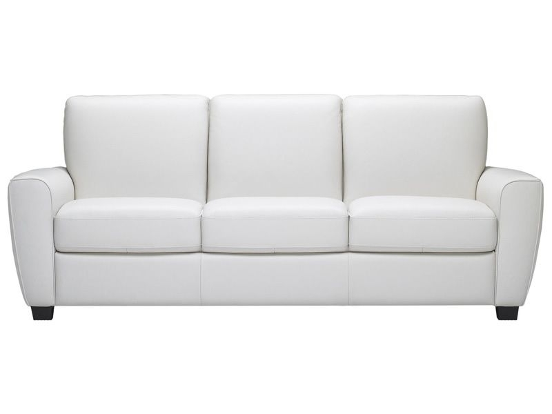 Pinchristie Moran On House Ideas | Pinterest | White Leather Within White Leather Sofas (Image 10 of 10)