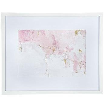 Pink, White & Gold Abstract Framed Wall Decor | Hobby Lobby | 1468297 Inside Hobby Lobby Abstract Wall Art (Image 18 of 20)