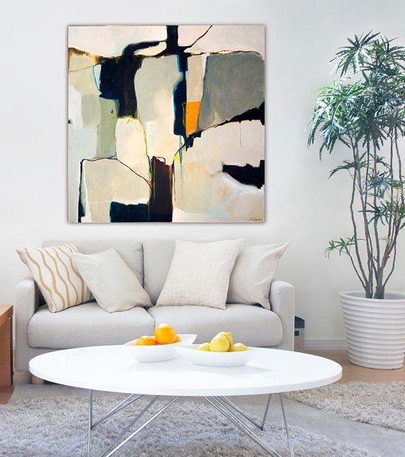 Pinrebecca Baksa On Artwork That I Like | Pinterest | Art In Grey Abstract Canvas Wall Art (Image 12 of 20)