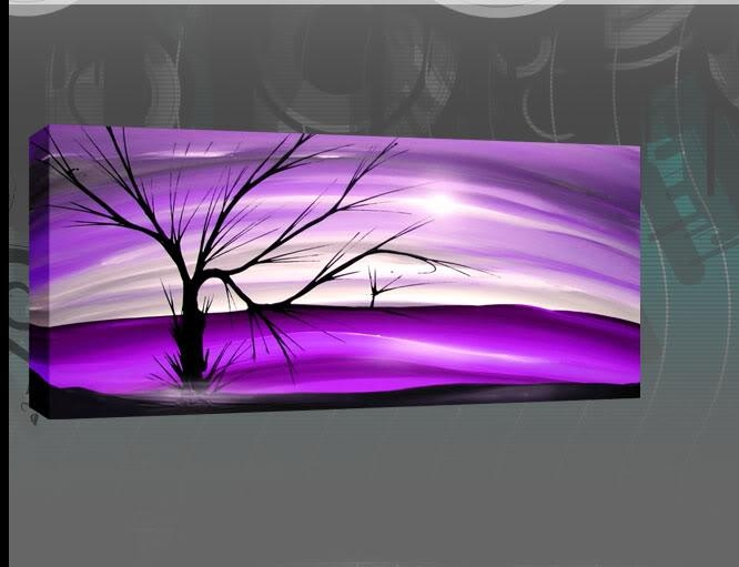Pinrufus Dsouza On Art Picture Images | Pinterest | Canvases With Purple And Grey Abstract Wall Art (Image 12 of 20)