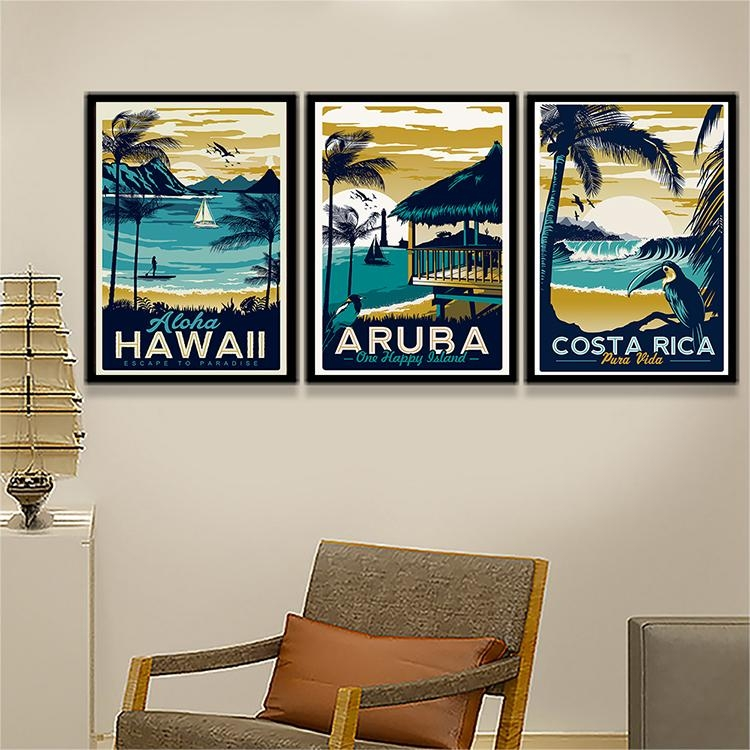 Popular Hawaii Decor For Rooms Buy Cheap Hawaii Decor For Rooms Pertaining To Hawaii Canvas Wall Art (Image 15 of 20)