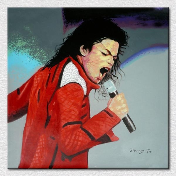 Popular Modern Room Supply Decor Art Canvas Printed Michael Throughout Michael Jackson Canvas Wall Art (View 15 of 20)