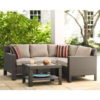 Popular Of Outdoor Sectional Sofa Set With Outdoor Sectional Sofa In Home Depot Sectional Sofas (Image 3 of 10)