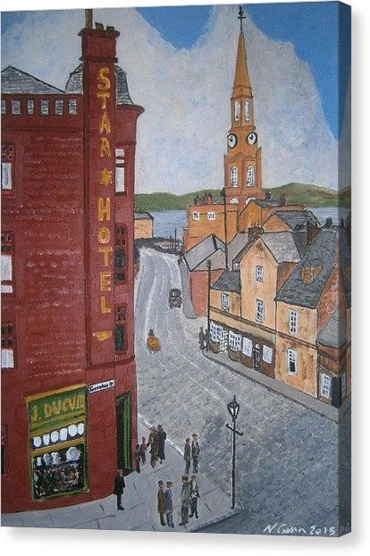 Port Glasgow Canvas Prints | Fine Art America With Regard To Glasgow Canvas Wall Art (Image 15 of 20)