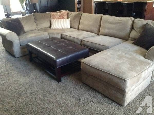 Pottery Barn Pearce Sectional Sofa Couch – For Sale In Swartz Creek Throughout Michigan Sectional Sofas (Photo 1 of 10)