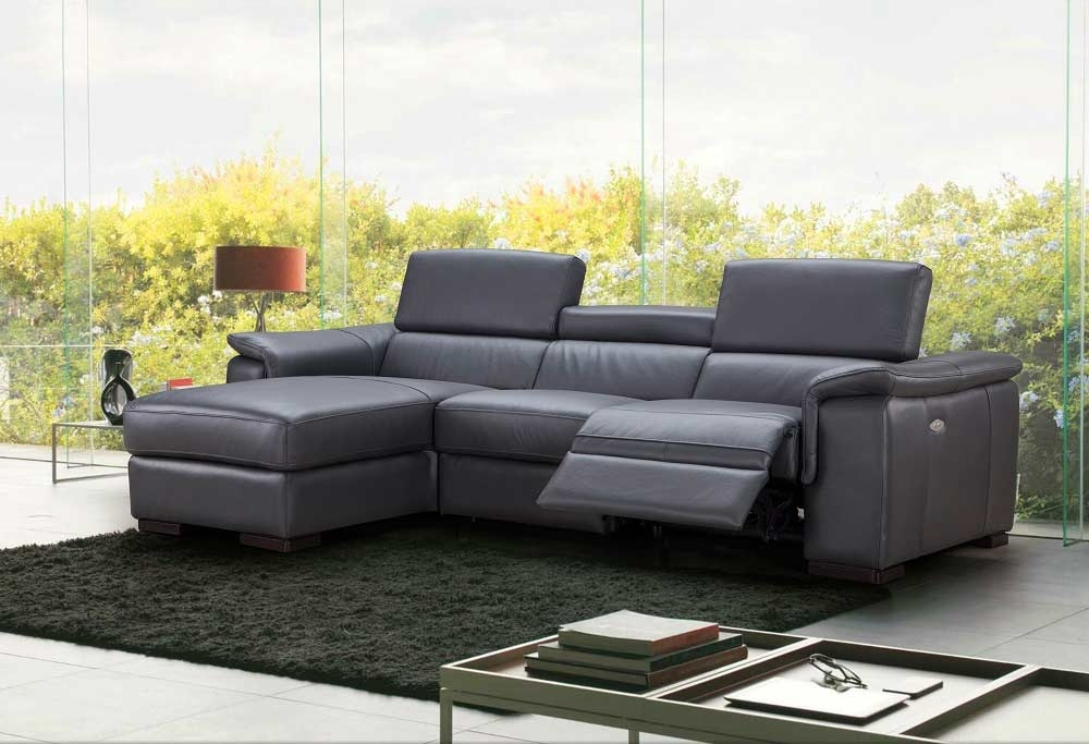 Premium Leather Sectional Sofa With Power Recliner Nj Ariana With Sectional Sofas With Power Recliners (Image 8 of 10)