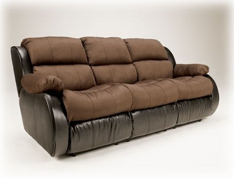 Presley – Espresso Reclining Sofa W/ Ddt/massage | Sofas | Pinterest In Homemakers Sectional Sofas (View 6 of 10)