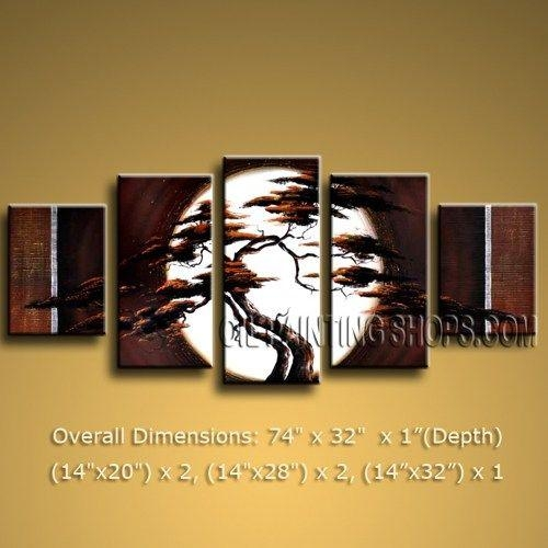 Primitive Huge Multiple Panels Canvas Wall Art Contemporary Regarding Next Canvas Wall Art (Image 10 of 20)