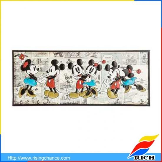 Promotional Mickey Mouse Canvas Art Wall Art Frames Uk Intended For Mickey Mouse Canvas Wall Art (Image 17 of 20)