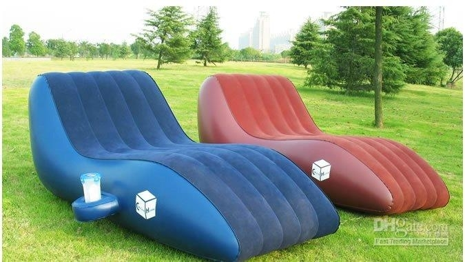 Pvc Leisure Inflatable Sofa/kids Inflatable Sofa Chair/double Size With Inflatable Sofas And Chairs (Image 9 of 10)