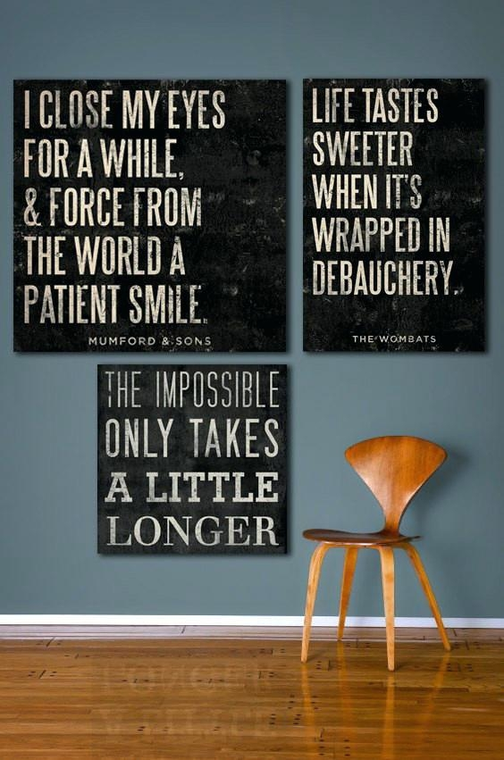 Quotes On Canvas Wall Art – Bestonline Regarding Custom Quote Canvas Wall Art (Photo 18 of 20)