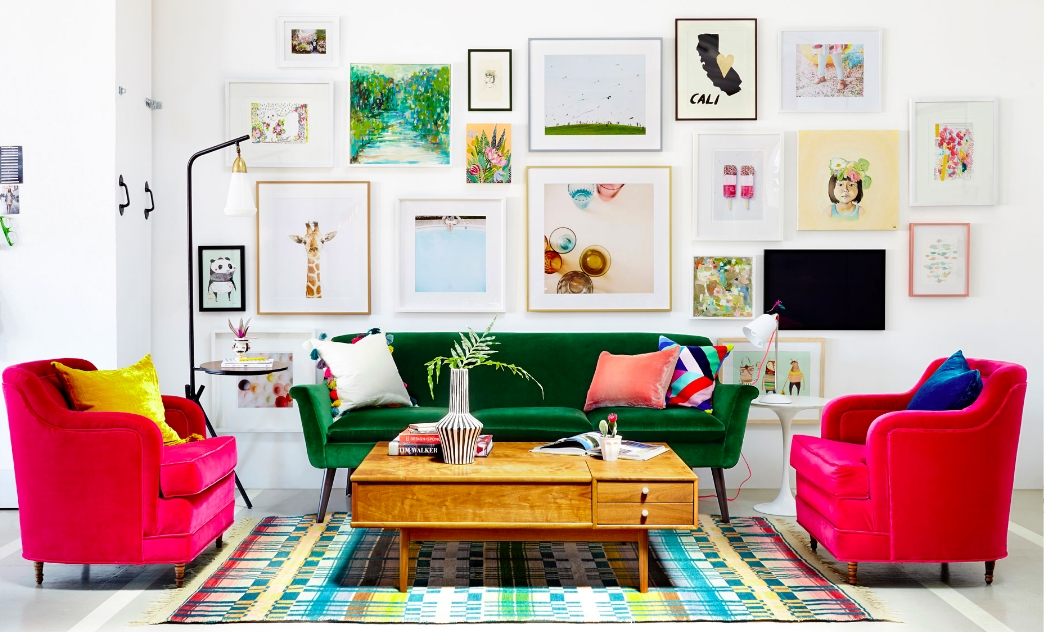 Rainbow Roundup: Colorful Sofas And Loveseats | Casa Brooklyn Pertaining To Colorful Sofas And Chairs (Photo 6 of 10)