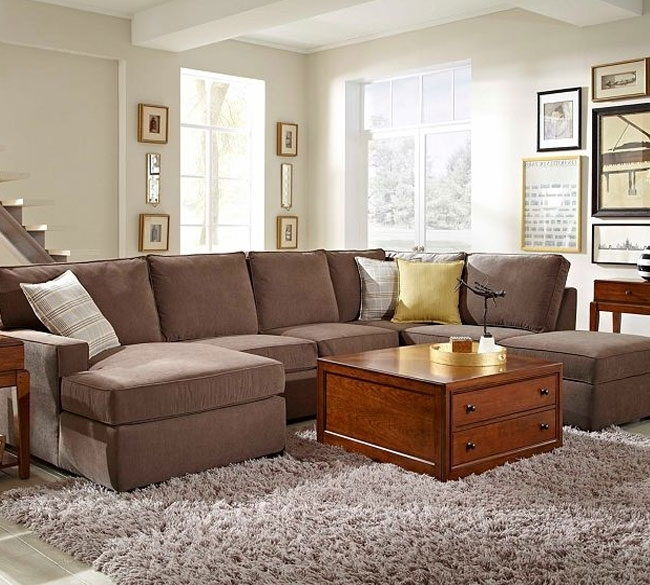 Raphael 6636 Sectional | Broyhill | Furniture | Pinterest | Living With Sectional Sofas At Broyhill (Photo 1 of 10)