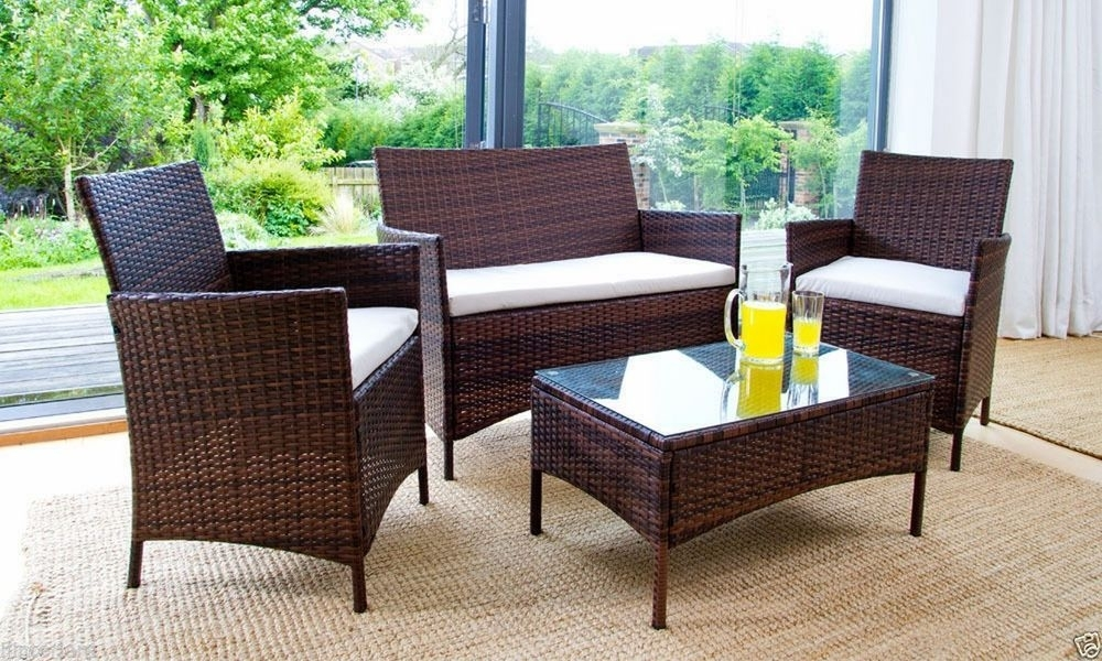 Rattan Outdoor Dining Sets – Dining Room Ideas Throughout Outdoor Sofas And Chairs (Image 10 of 10)