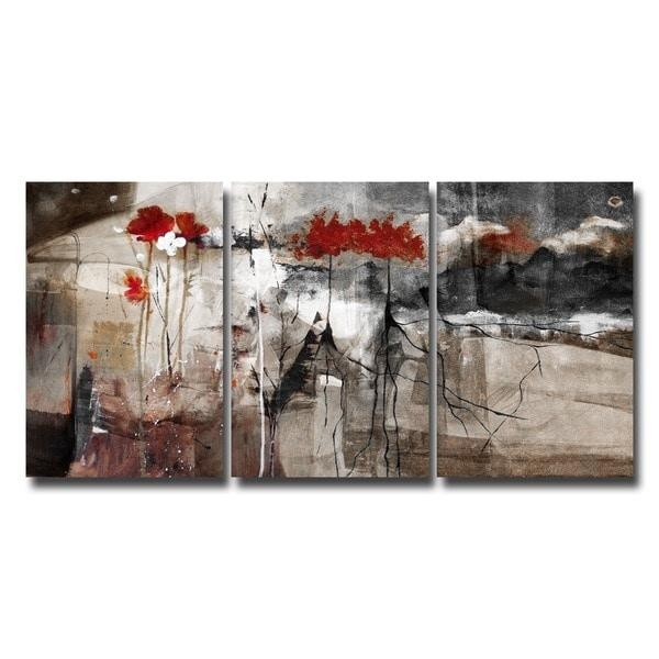 Ready2Hangart 'abstract' Multi Panel Canvas Wall Art – Free Regarding Overstock Abstract Wall Art (Image 14 of 20)