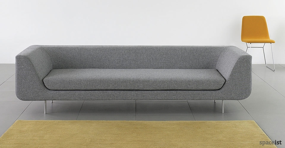 Reception Sofa – Black/ Dark Grey | Furniture | Pinterest | Sofa Regarding Office Sofas (Image 8 of 10)
