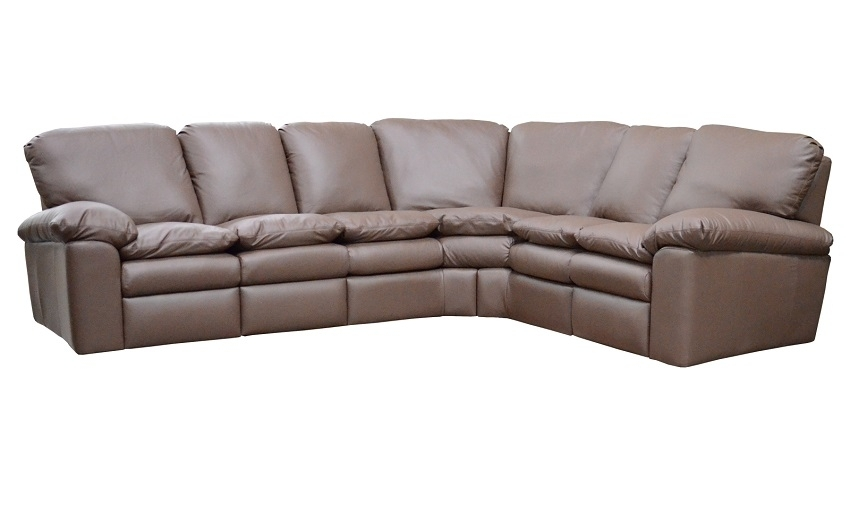 Reclining Leather Sectional Sofas : El Dorado Leather Reclining In El Dorado Sectional Sofas (Photo 1 of 10)