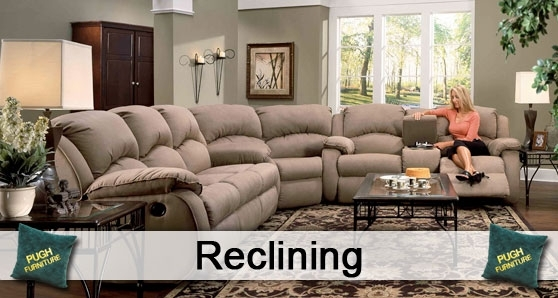 Reclining : Pugh Furniture In Sectional Sofas With Power Recliners (View 2 of 10)