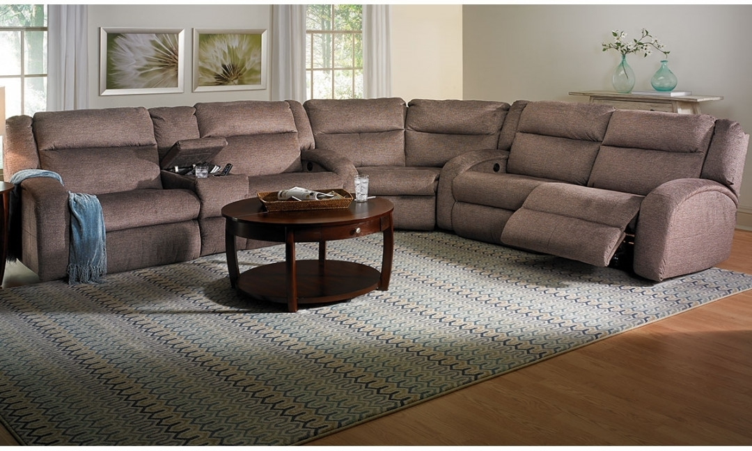 Reclining Sectional Sofas | Haynes Furniture, Virginia's Furniture Regarding Haynes Sectional Sofas (Image 5 of 10)