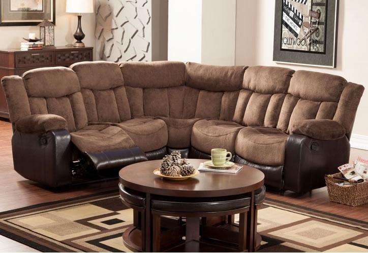 Reclining Sofa Sectional Pertaining To Dream Discount Bed Sofas For Sectional Sofas At Edmonton (View 7 of 10)