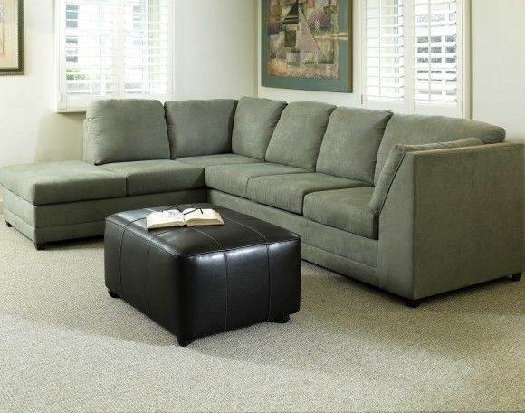 Rectangle Green Traditional Plastic Pillow Olive Green Sectional In Green Sectional Sofas (Photo 1 of 10)