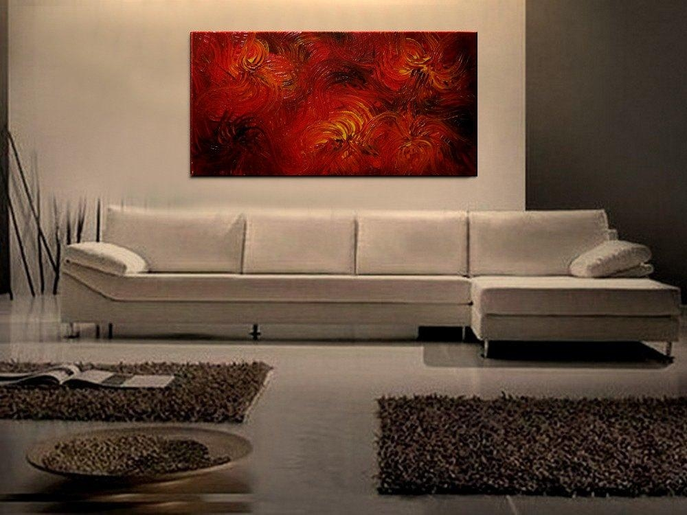 Red Abstract Archives – Artnathalie Van With Ottawa Abstract Wall Art (View 19 of 20)