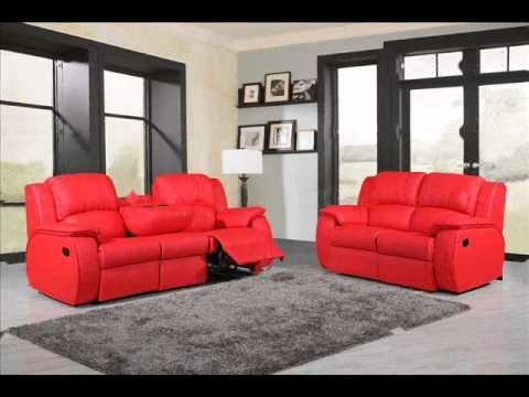 Red Leather Reclining Sofa Remarkable Talbot Modern Recliner At Inside Red Leather Reclining Sofas And Loveseats (Photo 9 of 10)