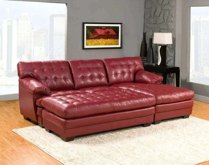 Red Leather Sofa Living Room Ideas Wwwredglobalmxorg Red Leather Inside Red Leather Couches And Loveseats (Image 9 of 10)