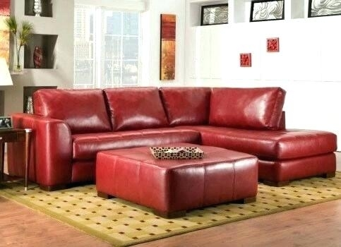 Red Sectional Sofa | Bemine (Image 9 of 10)