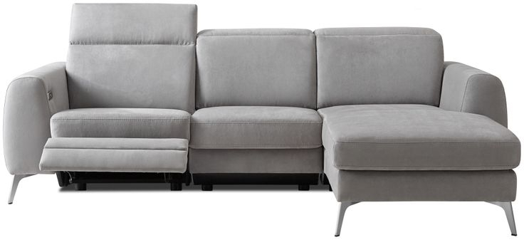 Remarkable Modern Recliner Sofa At Couch Reclining Inseltage Crimson Intended For Recliner Sofas (Image 10 of 10)