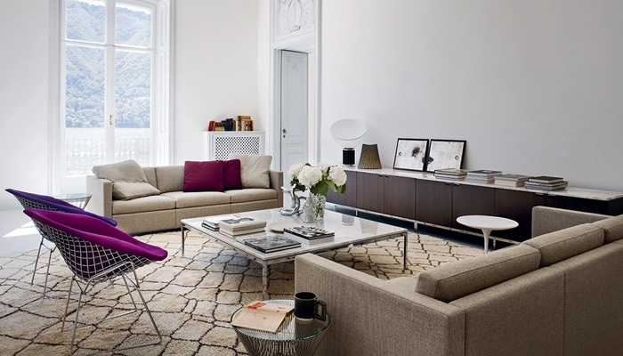 Residential | Market Focus | Knoll For Florence Knoll Living Room Sofas (Image 10 of 10)