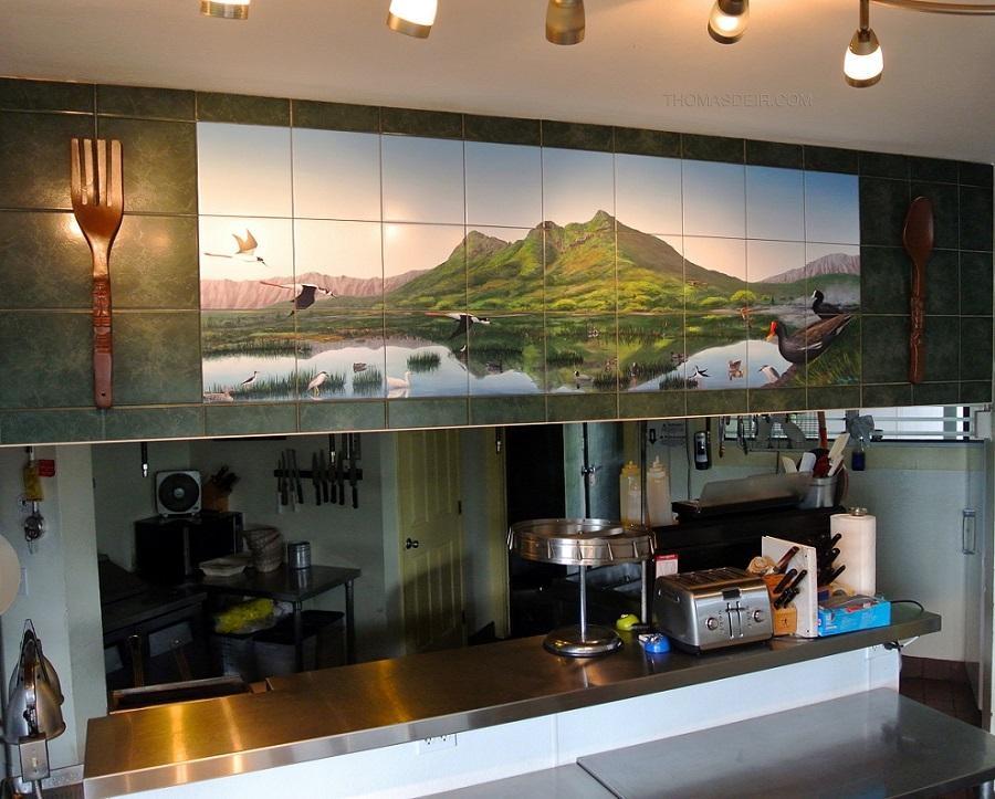 Restaurant Wall Art – Thomas Deir Honolulu Hi Artist Inside Hawaii Canvas Wall Art (View 15 of 20)