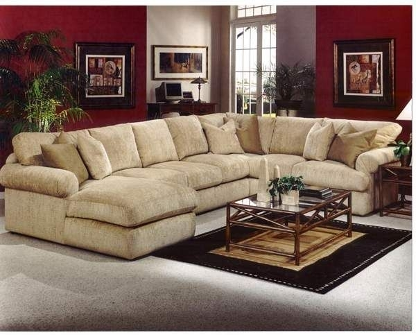 Robert Michael Fifth Avenue Sectional—Feather & Down Filling At For Down Feather Sectional Sofas (Photo 6 of 10)