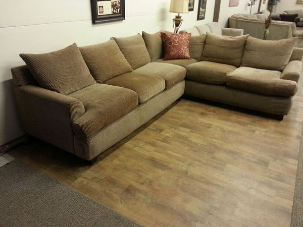 Robert Michaels Down Filled Sectional Sofa Couch (Furniture) In Within Everett Wa Sectional Sofas (Image 4 of 10)